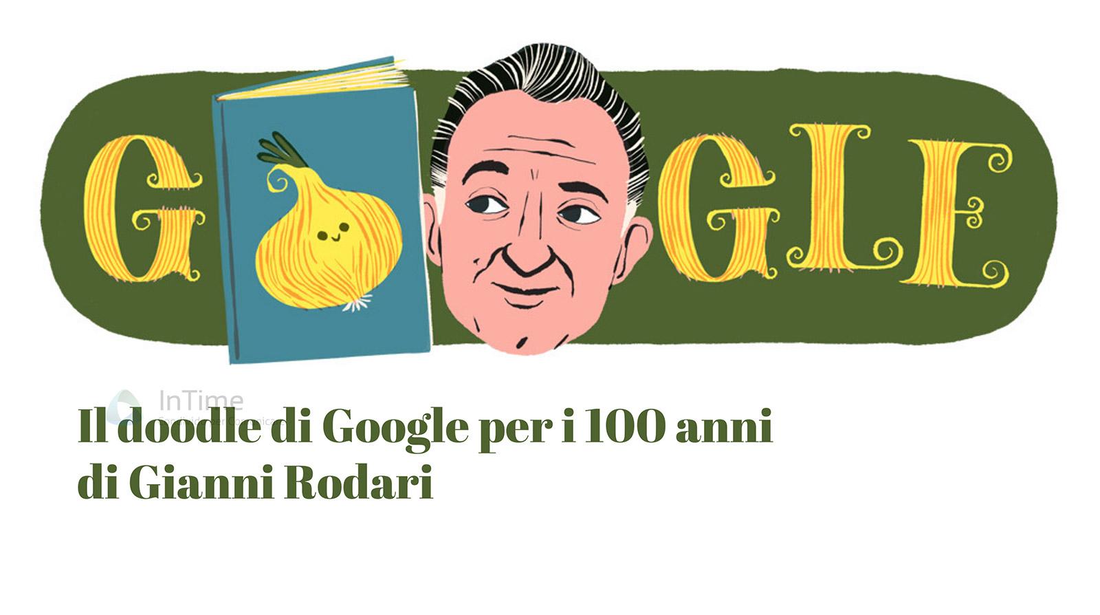 il doodle di oggi e per i 100 anni di gianni rodari il doodle di oggi e per i 100 anni di