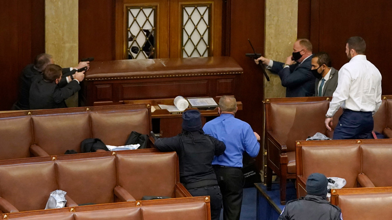 social media capitol hill aggressione getty mages