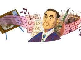 doodle Google Akira Ifukube