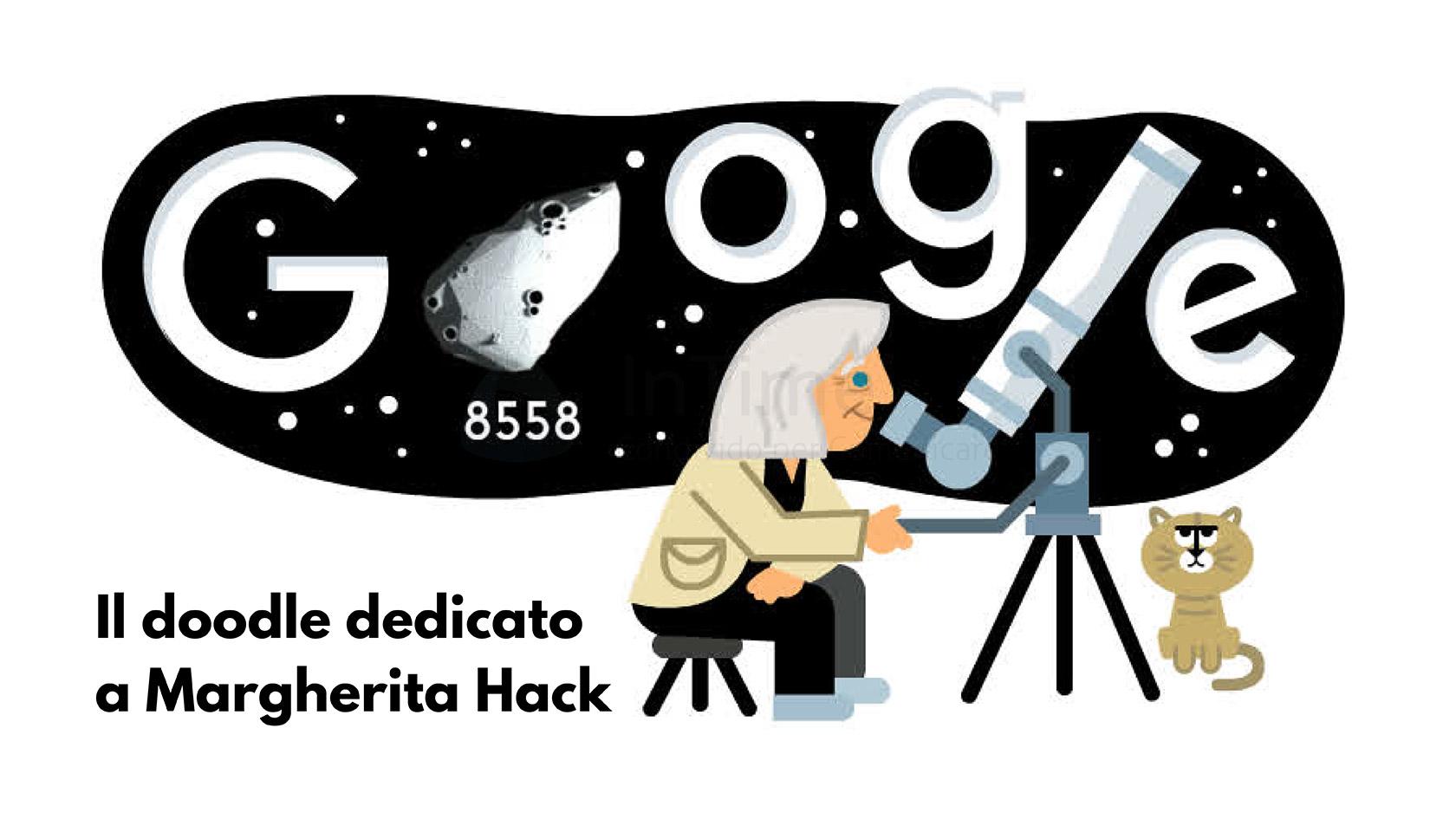doodle Google margherita hack franzrusso.it