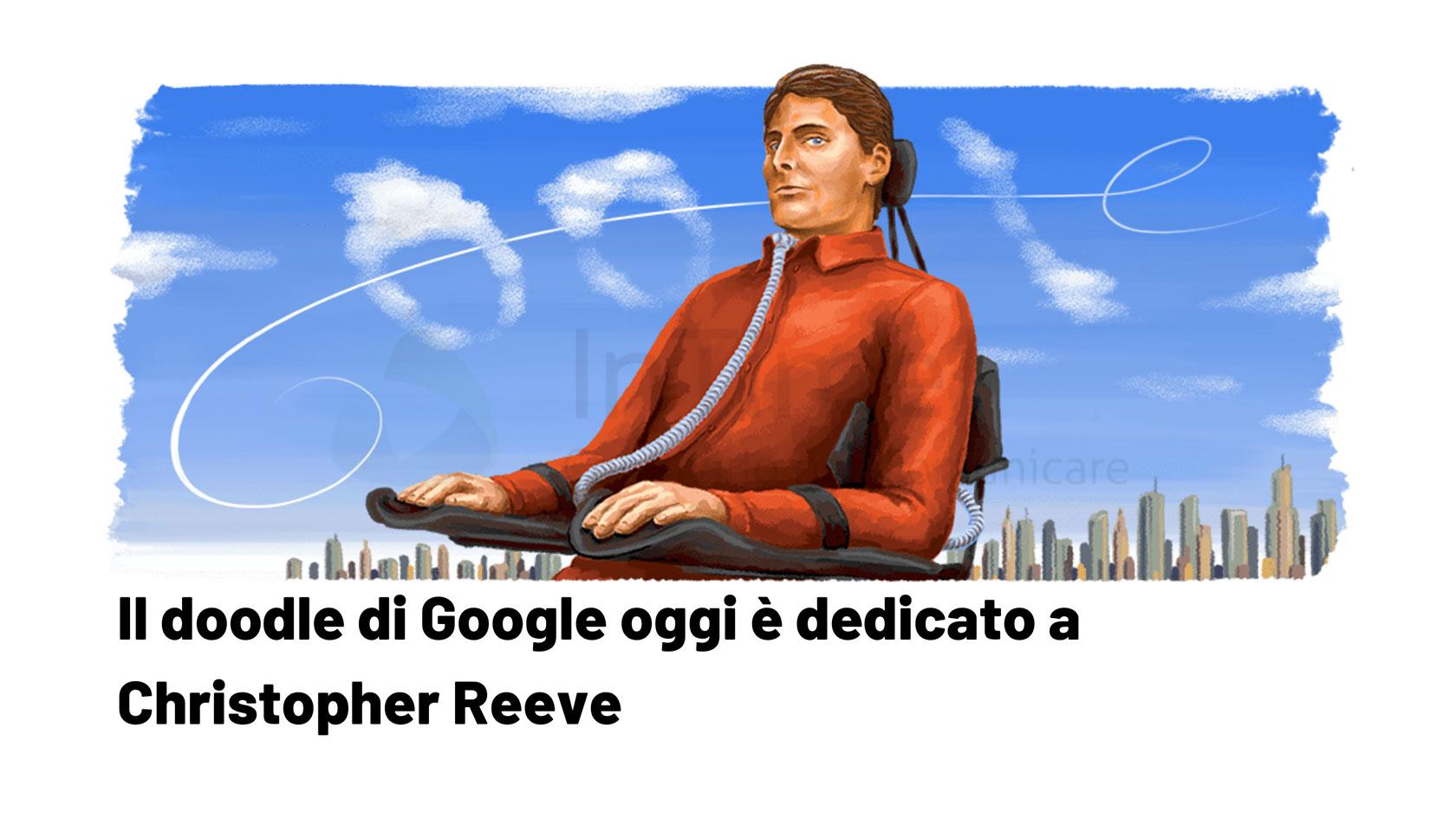 doodle Google Christopher Reeve franzrusso.it